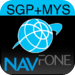 NAVFone Singapore Malaysia GPS Navigation for iPad