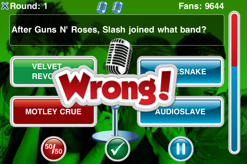 Screenshot We Sing Superstar Quiz